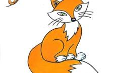 Theaterfuchs-Logo von Tanja breit